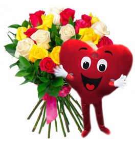 Улыбка красавицы + Сердце