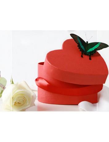 Коробочка Бабочка и Роза
