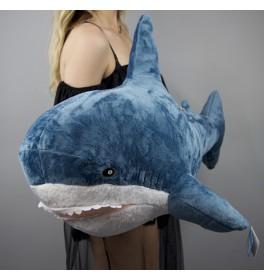 Мягкая игрушка Акула большая 85 см