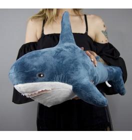 Мягкая игрушка Акула средняя 60 см