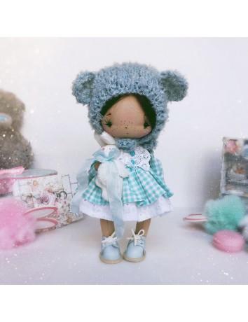Кукла Бусинка Мишка