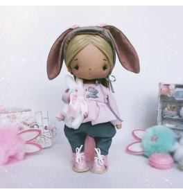 Кукла Бусинка Зайка