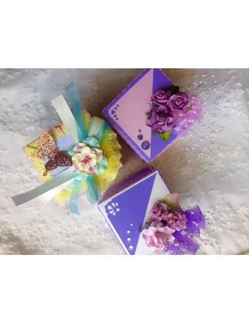 Стильная коробочка-конверт