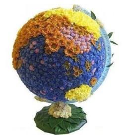 Композиция Глобус