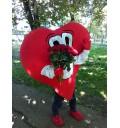 Доставка цветов курьером Сердце