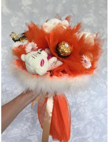 Букет из игрушек Апельсинка