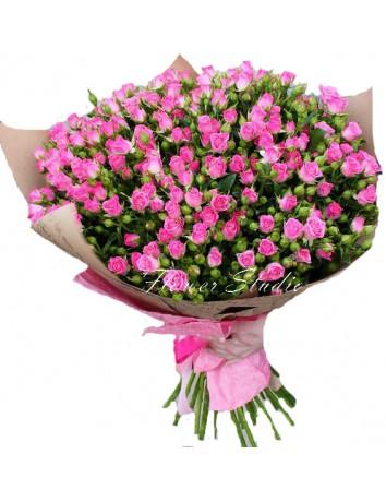 "Букет ""Розовая надежда"""