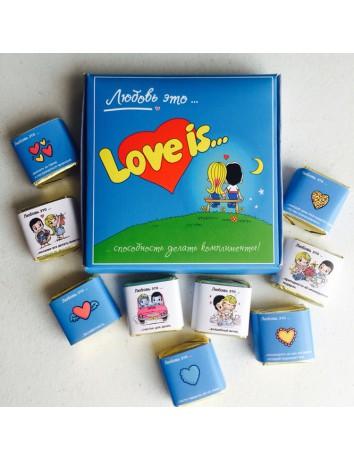 Шоколад ручной работы Love is