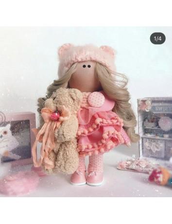 Кукла Тильда Мишка