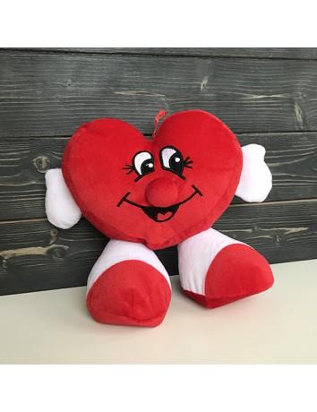 Мягкая игрушка подушка Сердце