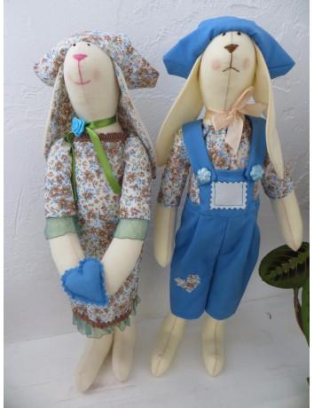 Влюбленные зайцы Тильда