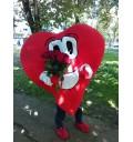Букет Розы любви доставка курьером Сердце