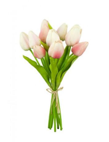 Букет Волшебнице сердца из 11 тюльпанов