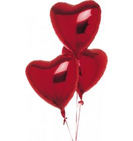 Шары Сердце из фольги