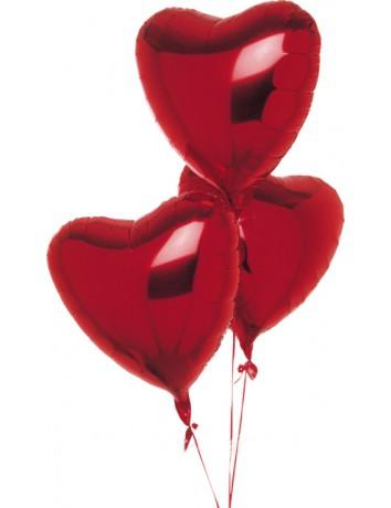 Шар Сердце из фольги