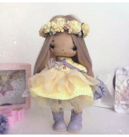 Кукла Бусинка в веночке