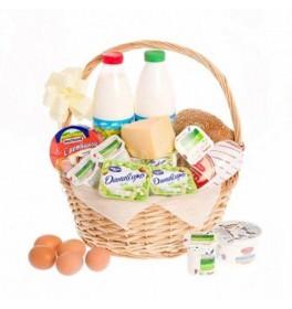 Продуктовая корзина Молочная