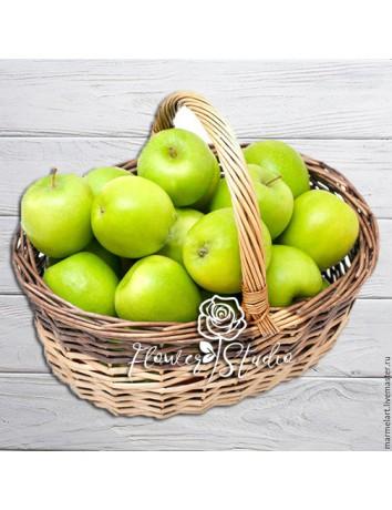 Фруктовая корзина Зеленое яблочко