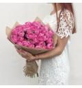 Букет с розой Мисти Баблс купить в Краснодаре