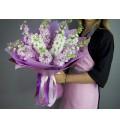 Букет Маттиола микс из весенних цветов