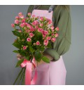 Букет Мгновение из мелкоцветковой кустовой розы