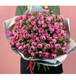 Букет с розой Мисти Баблс