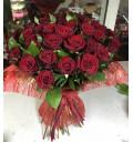 Букет Наша любовь из 51 красной розы