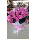 Букет Розовые мечты из 21 розовой розы