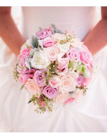 Свадебный букет Нежное сердце