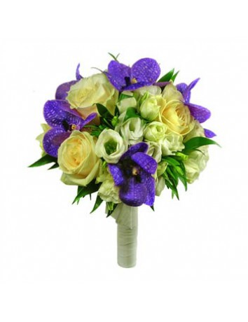 Свадебный букет Дикая орхидея