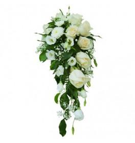 Свадебный букет Белый рассвет