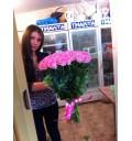 Букет Восторг из 51 розовой розы