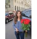 Букет Аромат счастья из 15 красных роз