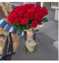 Букет Очарование из 21 красной розы